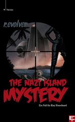 Buch-Cover, r. Evolver: The Nazi Island Mystery