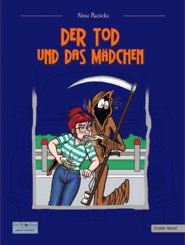 Buch-Cover, Nina Ruzicka: Der Tod und das Mädchen I (Online-Version)