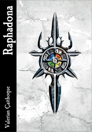 Buch-Cover, Valerian Çaithoque: Raphadona