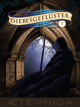 Buch-Cover, Felicitas Brandt: Diebesgeflüster Band 1
