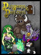 Buch-Cover, Greg Graveyard: Dungeons & Denizens