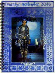 Buch-Cover, Charlotte Erpenbeck: Fantasy Taschenkalender 2016 (Anthologiekalender)
