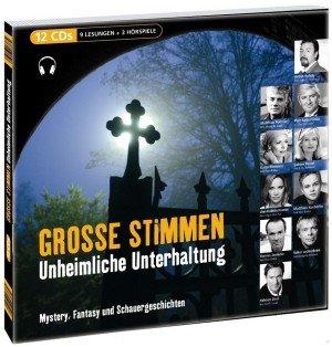 Buch-Cover, Ingo Gregus: Große Stimmen - Unheimliche Unterhaltung: Mystery, Fantasy und Schauer