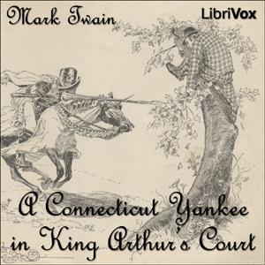 Buch-Cover, Mark Twain: Ein Yankee am Hofe des König Artus