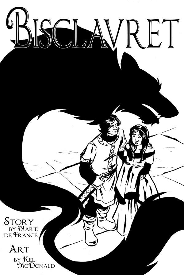 Buch-Cover, Kel McDonald: Bisclavret [Webcomic]