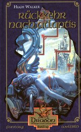 Buch-Cover, Hugh Walker: Rückkehr nach Atlantis