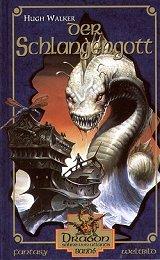 Buch-Cover, Hugh Walker: Der Schlangengott