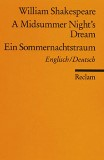 A Midsummer Night's Dream, Ein Sommernachtstraum