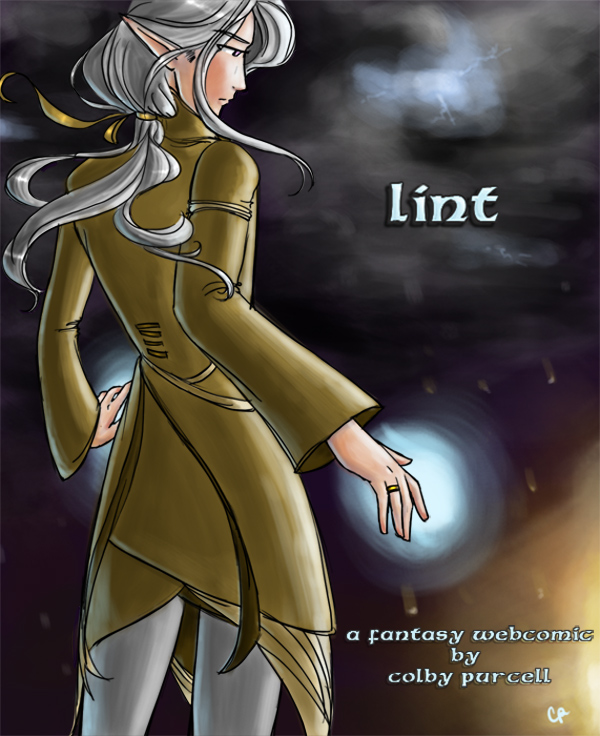 Buch-Cover, Colby Purcell: Lint